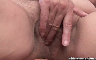 Muted granny loves anal sexual intercourse
