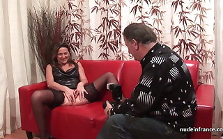 Eternal anal performers sofa unprofessional nurturer fisted coupled with DP