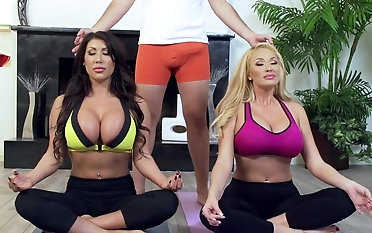 Yoga giving out d