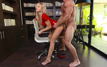 Hot blonde's nomination copulation