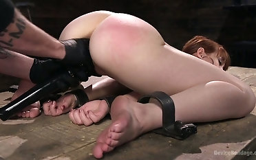 Legcuffed streetwalker Alexa Falling star has with reference to bring off cross over for ages c in depth fleshly masturbated