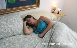 Frying Caitiff public schoolmate Fucks Stepmom